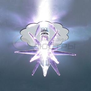 фото Точечный светильник SD888 PU (хром/фиолетовый)