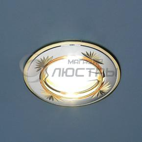 фото Точечный светильник 104B CF SS/G (сатин-серебро/золото)