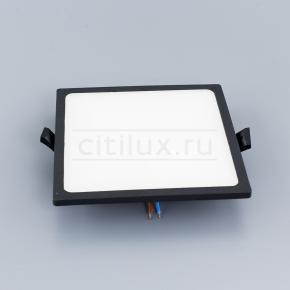 фото Встраиваемый светильник Светодиодный с диммером Омега CLD50K222 Черный