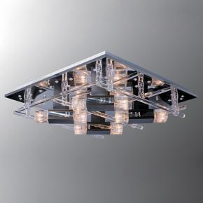фото Потолочный светильник Г Панель 1-4701-4+4-CR-LED Y G4