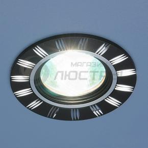 фото Точечный светильник 5814 MR16 BK/CH черный/хром