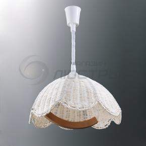 фото Подвесной светильник Н Ротанг 2-1280-1-WH E27