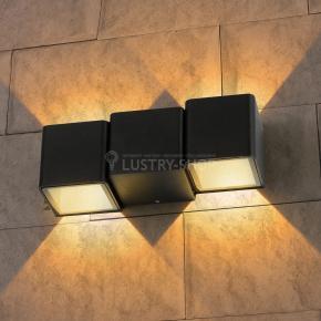 фото Настенный светильник TECHNO 1694 LED черный
