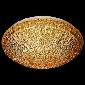 фото Потолочный светодиодный светильник 90008/1 янтарный