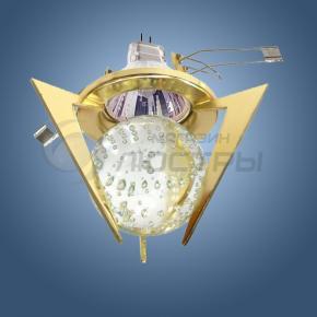 фото Точечный светильник 1782 золото/белый