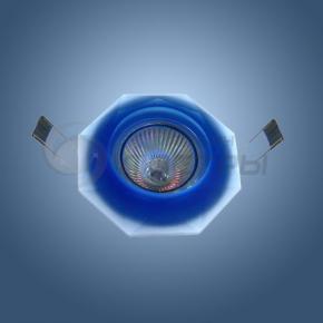 фото Точечный светильник 1554 синий