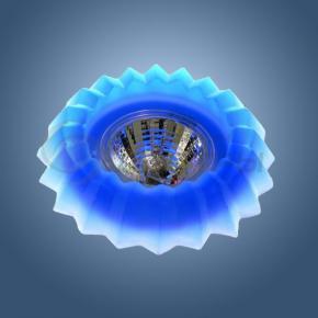 фото Точечный светильник 712 синий