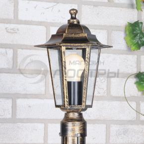 фото Светильник уличный NX9701 3T черное золото