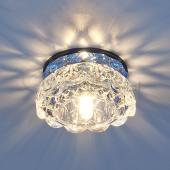 фото Точечный светильник 6240 зеркальный/синий
