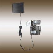 фото Прожектор уличный светодиодный на солнечных батареях с датчиком движения 3717S