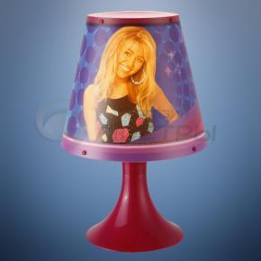фото Детская настольная лампа Hannah Montana 662362