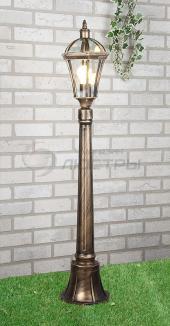 фото Светильник уличный Capella F черное золото