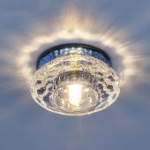фото Точечный светильник 6246 зеркальный/синий