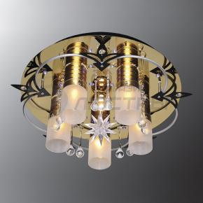 фото Потолочный светильник Г Панель 1-1148-6-FG+WH-LED Y Е27+