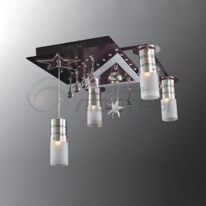 фото Потолочный светильник Г Панель 1-1164-5-CR-LED Y E27+G5.