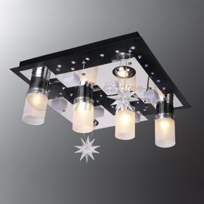 фото Потолочный светильник Г Панель 1-1167-6-CR+BK-LED Y Е27+