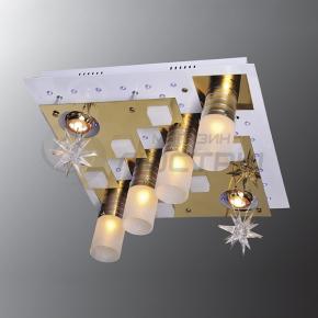 фото Потолочный светильник Г Панель 1-1167-6-FG+WH-LED Y Е27+