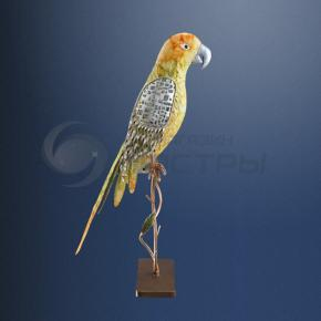 фото Декоративная уличная фигура на солнечных батареях Globo Попугай 33258