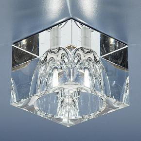 фото Точечный светильник 498 WH (прозрачный)