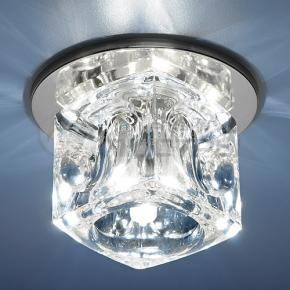 фото Точечный светильник 499 CH/WH (хром/прозрачный)