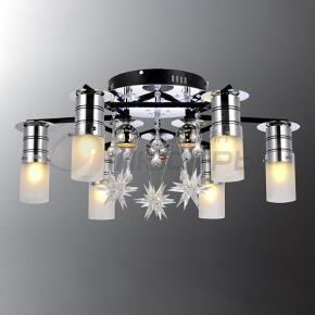 фото Потолочный светильник Г Панель 1-8001-9-BK+CR-LED Y Е27+