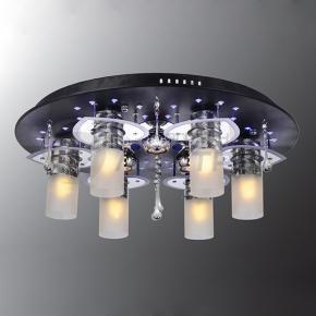 фото Потолочный светильник Г Панель 1-0812-9-BK+CR-LED Y Е27+