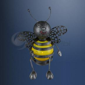 фото Декоративная уличная фигура на солнечных батареях Globo Пчела 33407