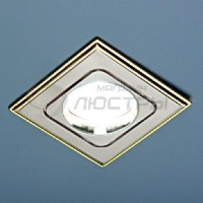 фото Точечный светильник 503А SN/G (сатин никель/золото)