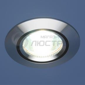 фото Точечный светильник 5106 сатин. серебро/черный