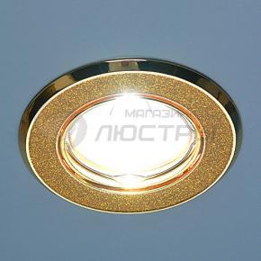 фото Точечный светильник 611A GD/T (золото блеск/золото)
