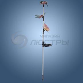 фото Светильник садовый на солнечных батареях с выключателем (комплект из 2 шт.) 357216