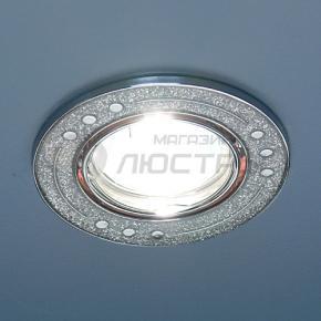 фото Точечный светильник 615A SH SL (серебро блеск/хром)