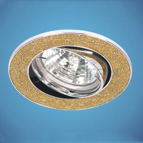 фото Точечный светильник 616 SY/CH (блеск золото/хром)