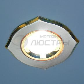 фото Точечный светильник 702A SN/G (сатин никель/золото)