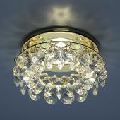 фото Точечный светильник 7070 GD/WH (золото/прозрачный)