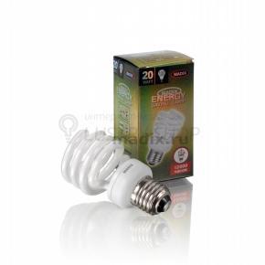 фото Лампа энергосберегающая спираль T2 20W E27