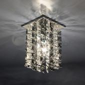 фото Точечный светильник 207 хром/дымчатый/прозрачный