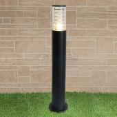 фото Светильник на столбе 1507 TECHNO black черный