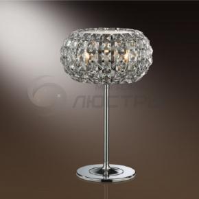фото настольная лампа хрустальная  Crista 1606/3T