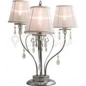 фото Настольная лампа Хром, Белый