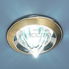 фото Точечный светильник 117B HE SG/N (сатин-золото/никель)