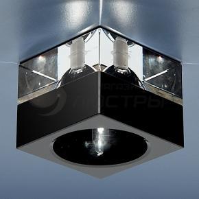 фото Точечный светильник 494 BK/WH (черный/прозрачный)