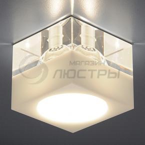 фото Точечный светильник 494 WH/Clear (белый / прозрачный)