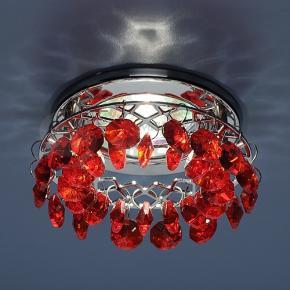 фото Точечный светильник 7070 CH/RED (хром/красный)