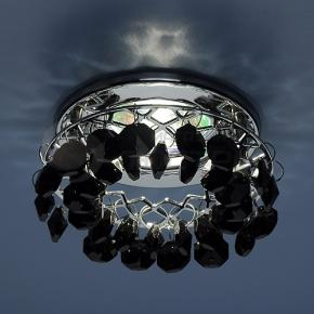 фото Точечный светильник 7070 CH/BK (хром/черный)