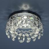 фото Точечный светильник 7070 CH/WH (хром/прозрачный)