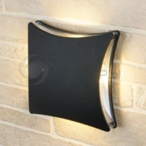 фото Светильник уличный настенный Techno 1014 черный