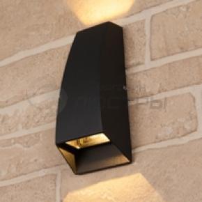 фото Светильник уличный настенный Techno 1016 черный
