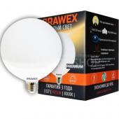 фото Светодиодная лампа Brawex Premium шар LED G120 E27 15W 3000K