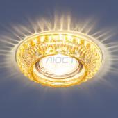 фото Светильник встраиваемый со светодиодной подсветкой 7247 MR16 GC тонированный